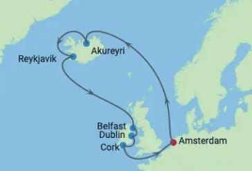 Apex Ireland & Iceland Map